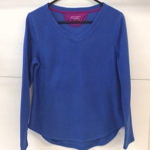 Be Inspired PJ Long Sleeve Shirt Size S Women's